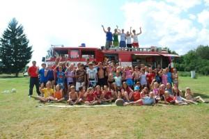 Letní tábor pro děti 2014 byl prima